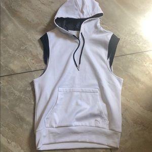 Puma sleeveless hoodie
